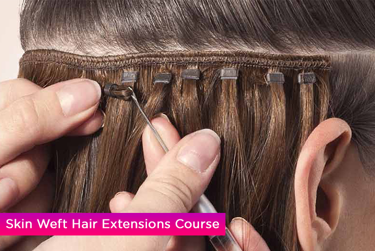 Skin Weft Hair Extensions Course